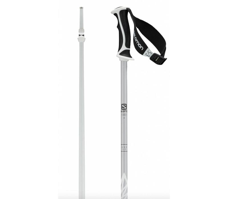 Salomon Angel Poles White