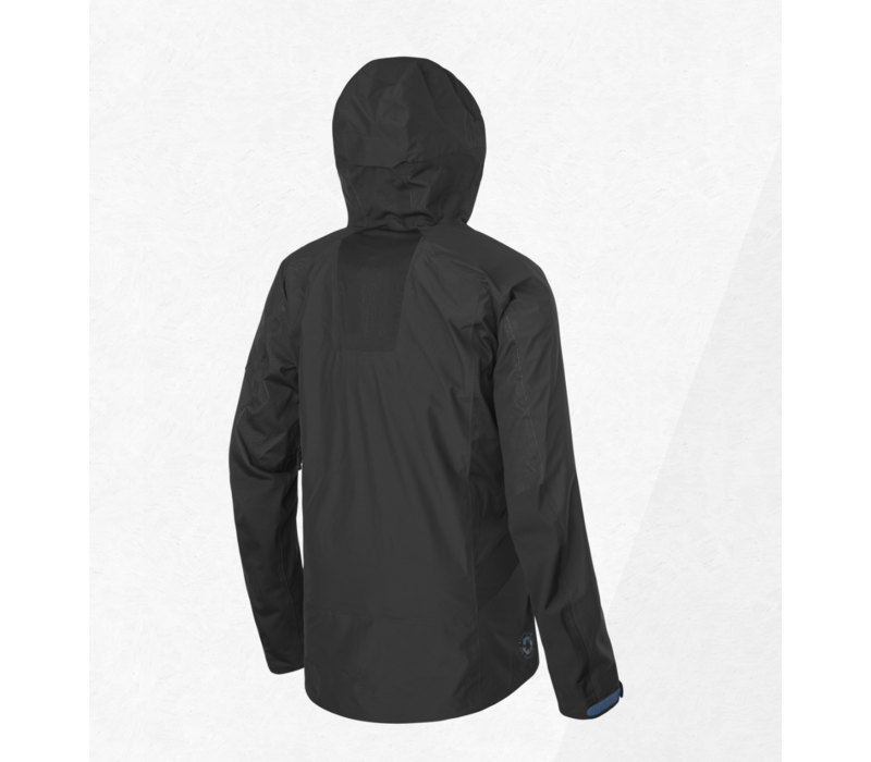 Picture Effect Jacket Black