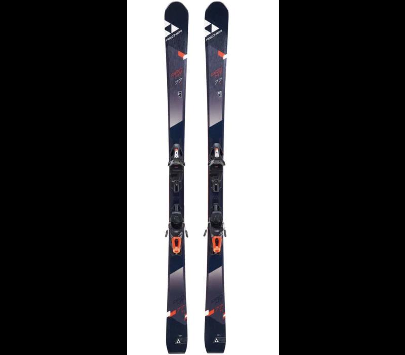 Fischer Pro Mt 77 Ti Tpr Ski + Rs 10 Binding