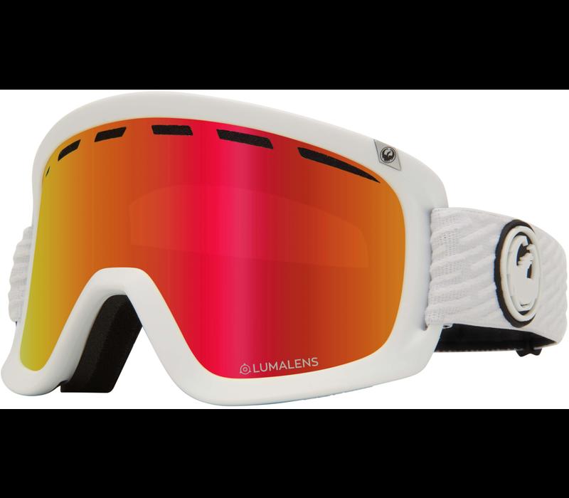 Dragon D1 OTG -Pk White Lumalens Goggle