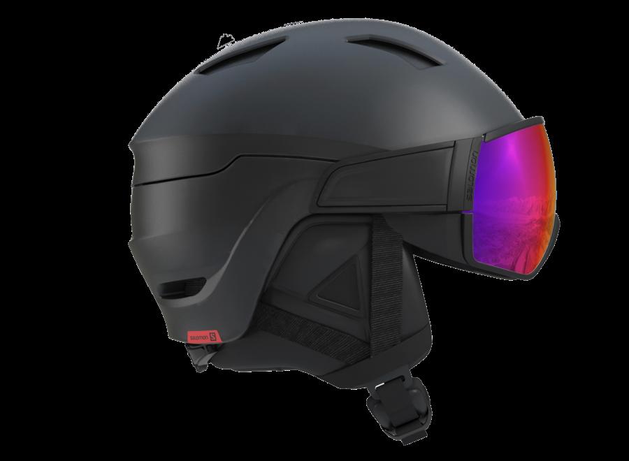 Driver Visor Helmet + 2 Lenses Accent/Solar