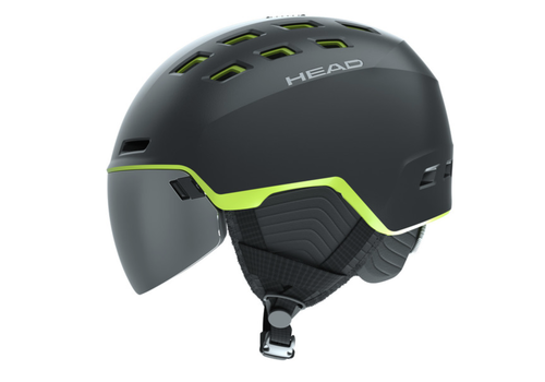 HEAD SKI Radar Visor Ski Helmet Men's