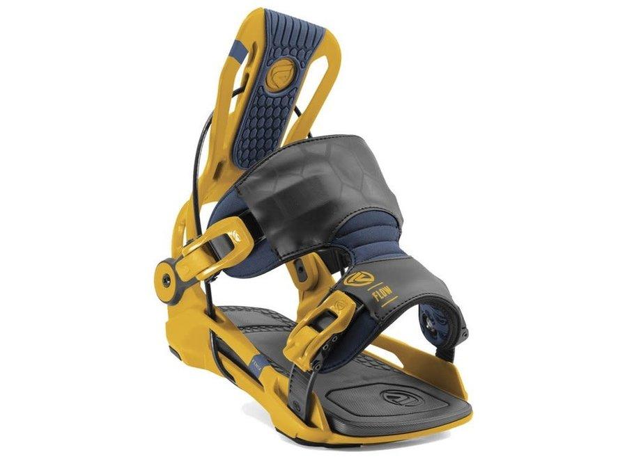 Flow Fenix Snowboard Binding Mustard