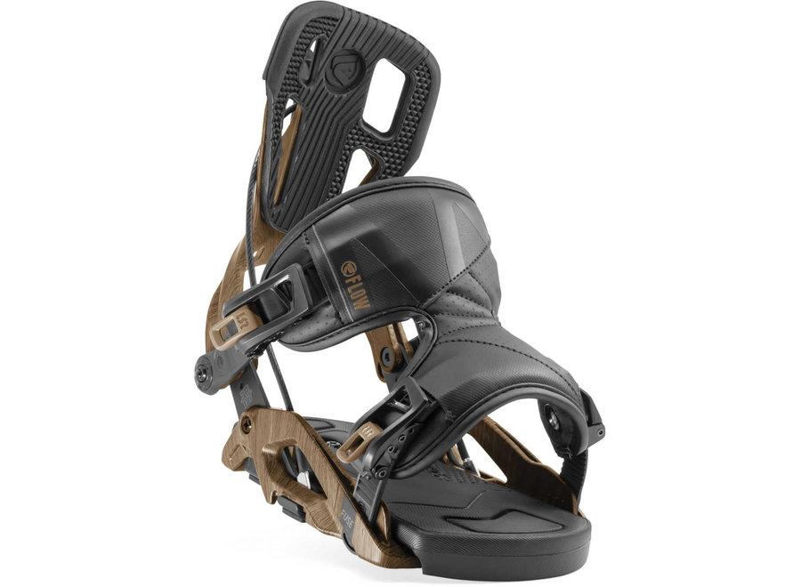Flow Fuse Snowboard Binding Brown