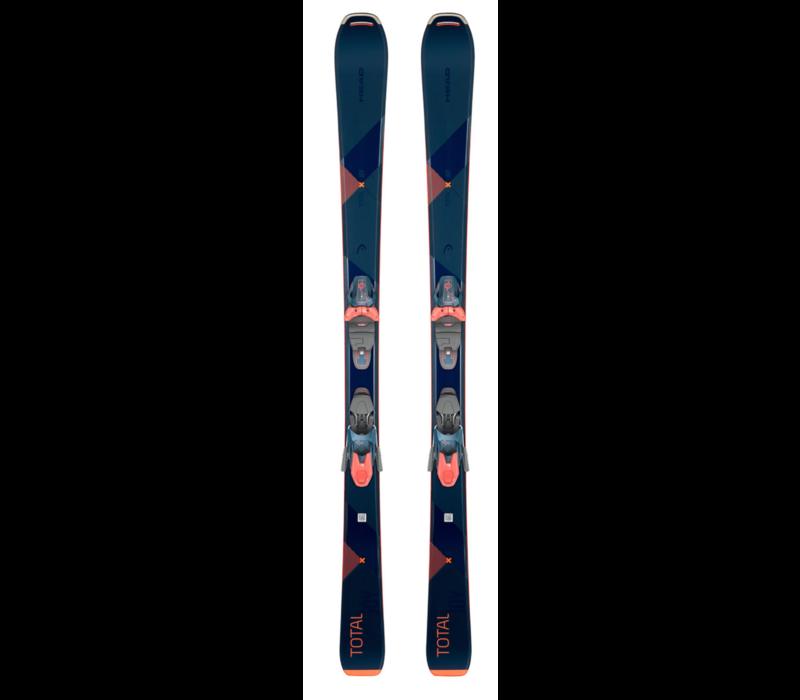 total Joy SLR Joy Pro Ski + JOY 11 GripWalk Binding