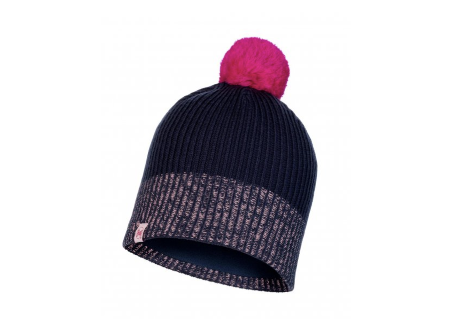 Knitted JR Hat Audny Night Blue