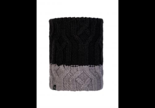 BUFF Knitted JR Neckwarmer Ganbat Black