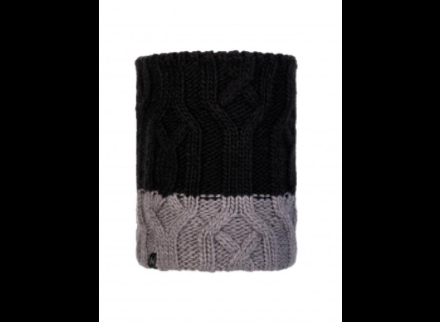 Knitted JR Neckwarmer Ganbat Black