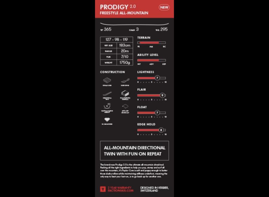 Faction Prodigy 2.0 Ski