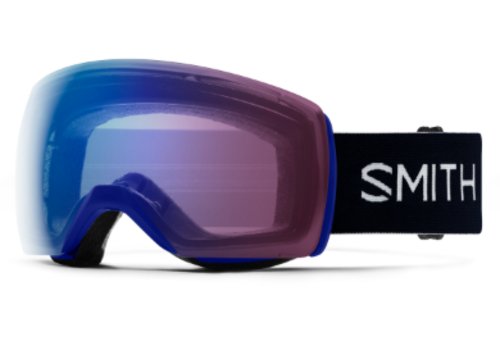 SMITH OPTICS Skyline XL Photochromic Goggle Klein Blue
