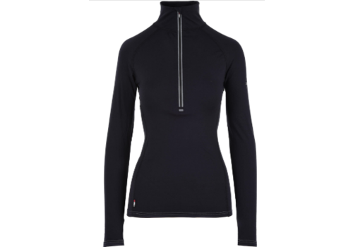 CarbonDri Women's Zip Neck Baselayer