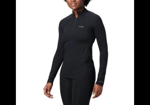 COLUMBIA Columbia Women's Midweight Long Sleeve Half Zip Black