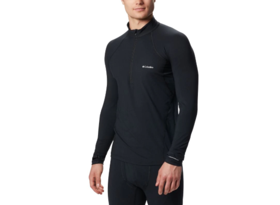Columbia Midweight Long Sleeve Half Zip Black