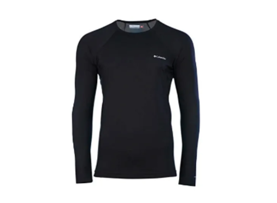 Columbia Midweight Long Sleeve Top Black