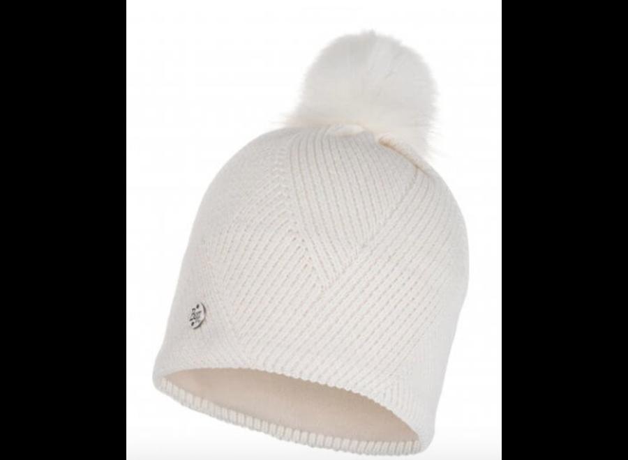 Buff Disa Knitted Hat - Fog