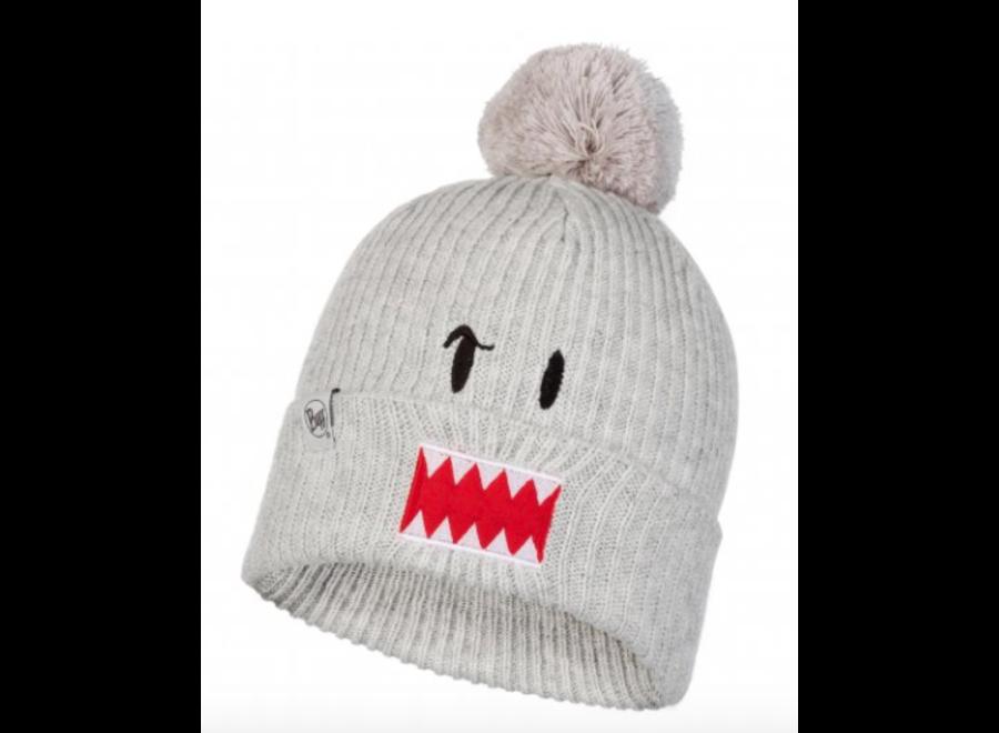 Buff Knitted JR Hat Funn Ghost Cloud