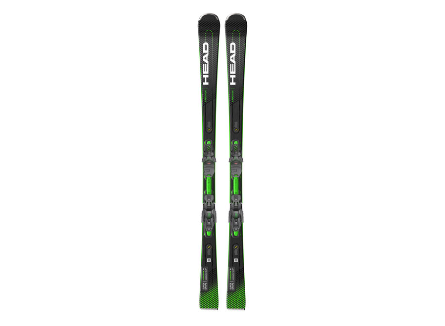 SuperShape e-Magnum Ski + PRD12 GripWalk Binding