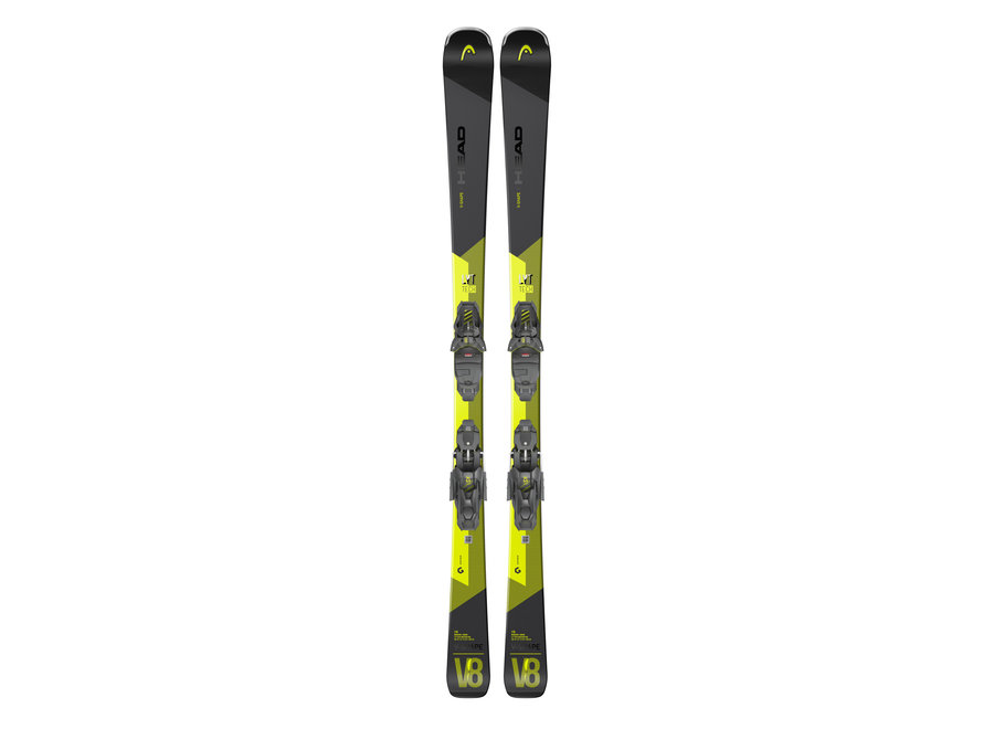 HEAD V-Shape V8 SW LYT Ski - PR + PR11 GripWalk Binding
