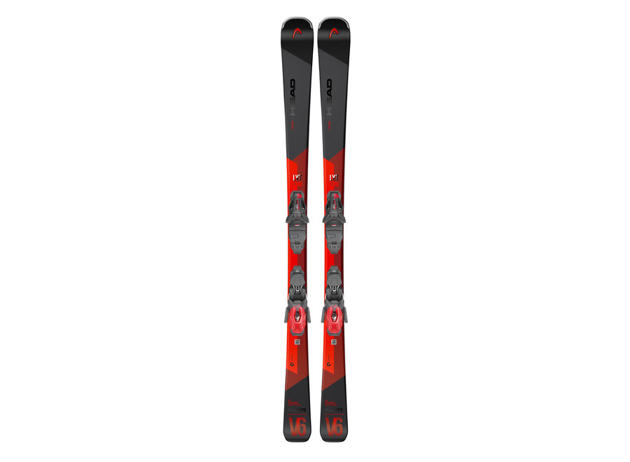 HEAD V-Shape V6 LYT - PR Ski + PR11 GripWalk Binding
