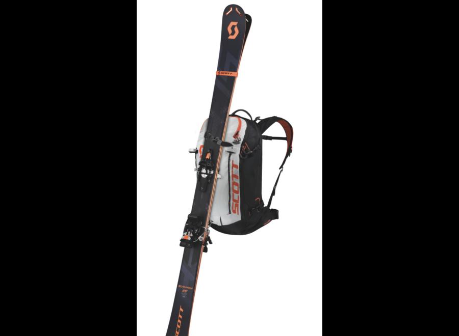 Patrol E1 Backpack Including Avi System Black Gery tangerine orange 30L W19/20