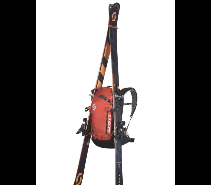 Scott Patrol E1 Backpack Including Avi System Burnt Orange Black 22L W19/20