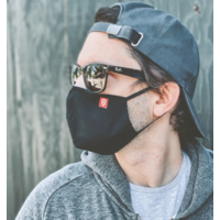 Technical 3 layer Ergonomic Facemask (3 pack)