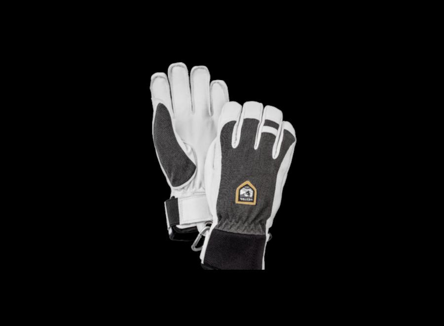 Army leather Patrol short glove