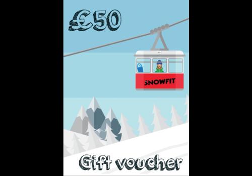 SNOWFIT VOUCHER £50