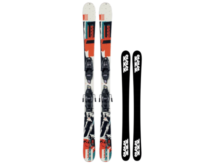 K2 Juvy FDT 4.5 Junior Ski Set