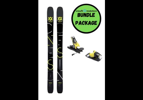 SNOWFIT BUNDLES Volkl Confession + Spx 12 Black/ Yellow