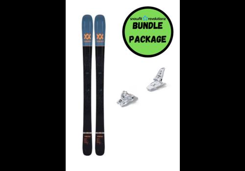 SNOWFIT BUNDLES Volkl Secret + Squire 11 White 100mm