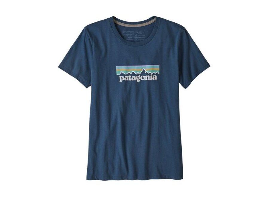 Women's Pastel P-6 Logo Organic Crew T-Shirt