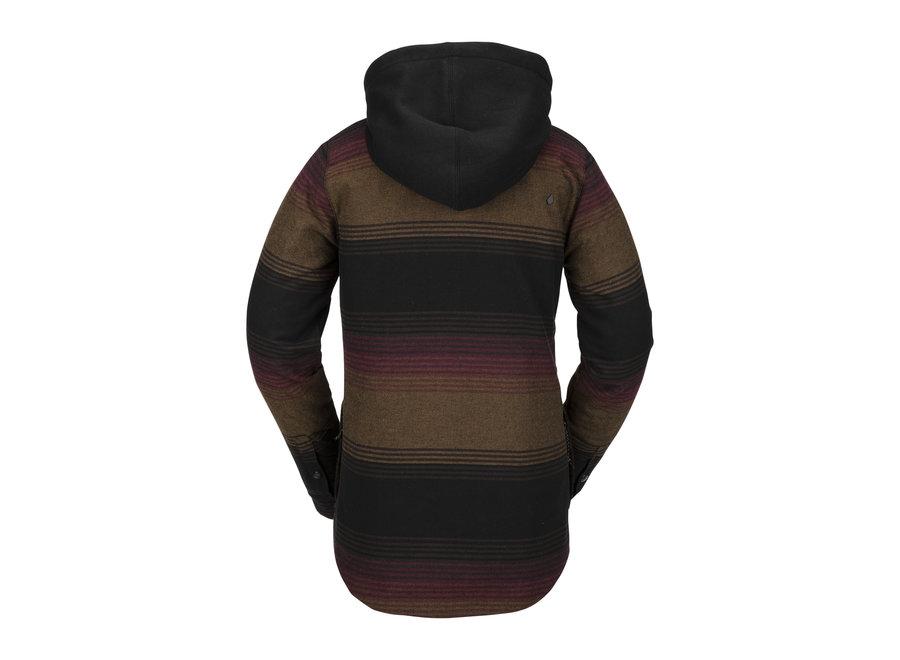 Volcom Hooded Flannel Women's jacket