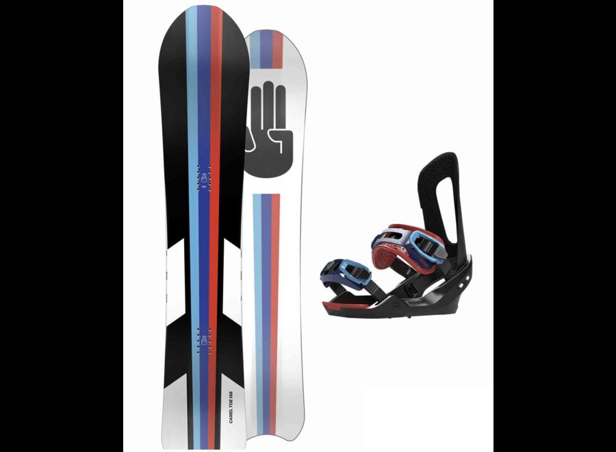 Bataleon Camel Toe Snowboard + Binding Set