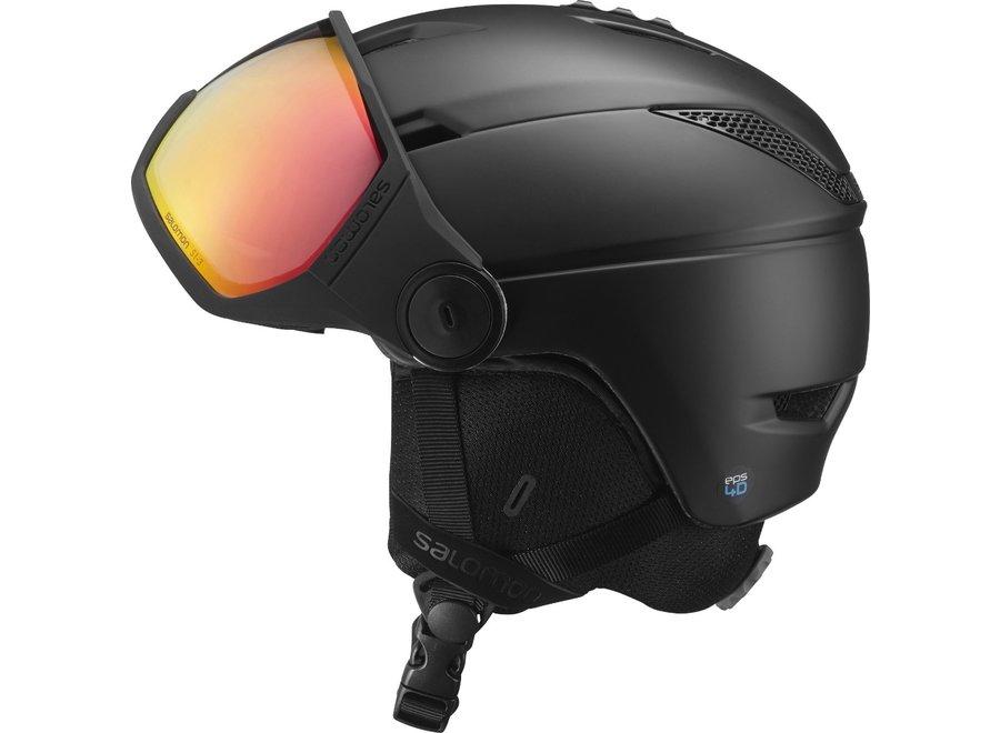 Pioneer Visor Ski Helmet