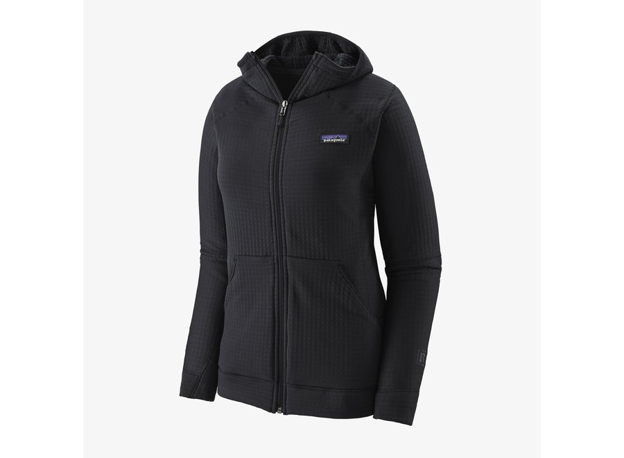 Women's R1 Air Full-Zip Hoody Black L W20/21