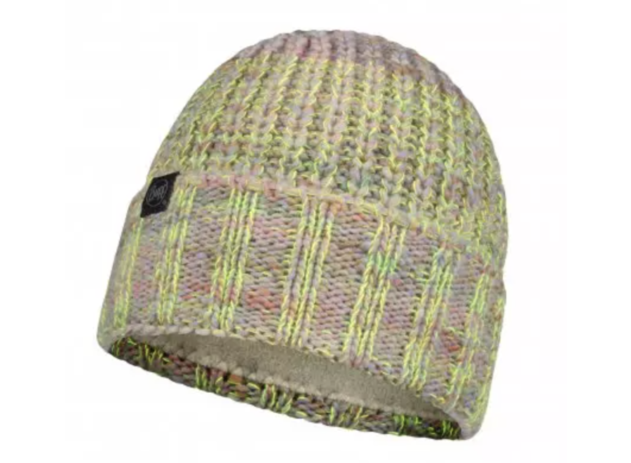 Buff Sabine knitted & Fleece Hat