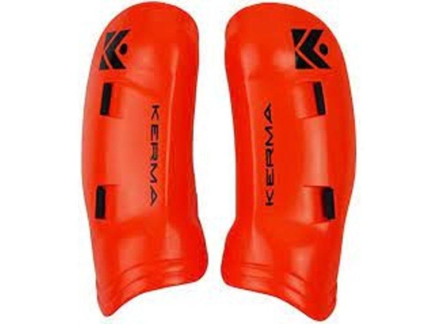 Kerma Tibia  Protection JR Flouro Orange