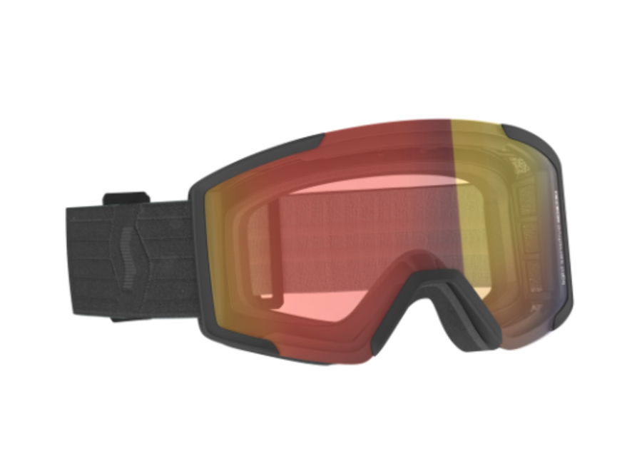 Scott Goggle Shield Light Sensitive Black/Red Chrome