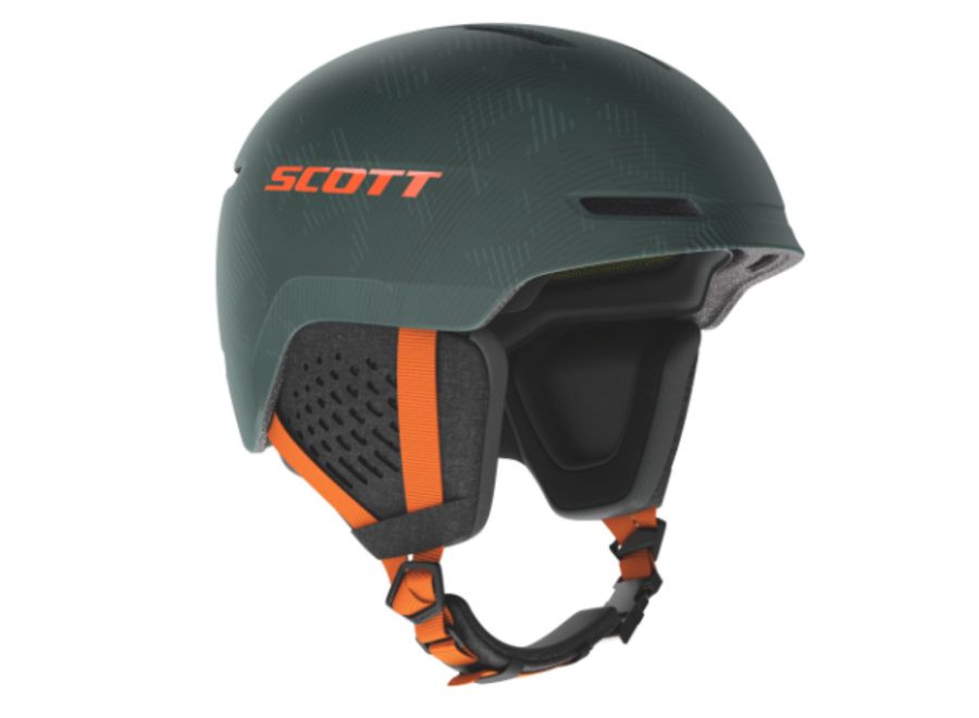 Scott Track Plus Mips Helmet Green/Pumkin