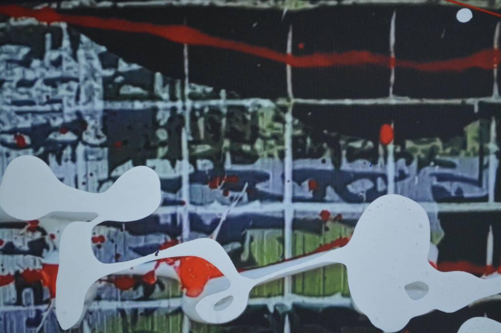 Max Verstappen Mixed Media schilderij