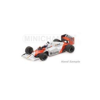 Minichamps McLaren MP4/2C Alain Prost modelauto 1:18| Wereldkampioen 1985