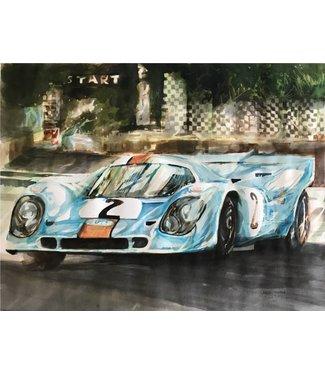 Porsche 917K Gulf  | Gilberto Gaspar