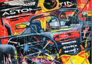 Eric Jan Kremer schilderijen en Formule 1
