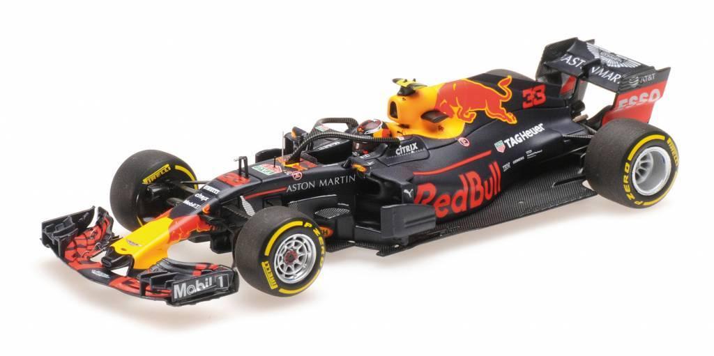 Binnenkort beschikbaar: Max Verstappen Minichamps schaalmodel 2018 als winnaar GP van Oostenrijk