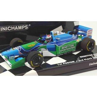 Minichamps Schaalmodel Jos Verstappen GP Hongarije 1994