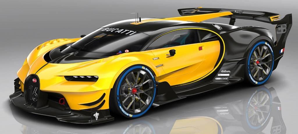 Bugatti Schaalmodel Vision Gran Turismo 2015 1:18