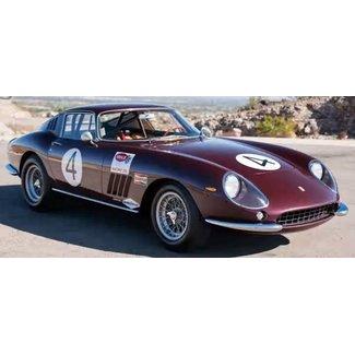 CMC Ferrari Schaalmodel F275 GTB/C #4 PEDRO RODRIGES NASSAU TOURIST TROPHY 1966