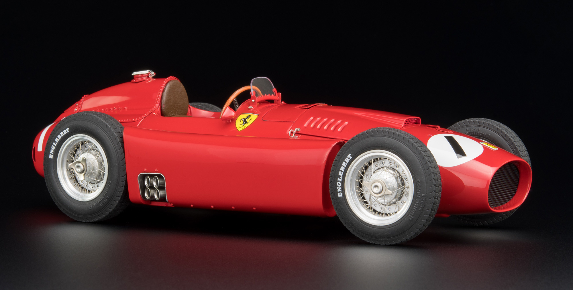 CMC Ferrari D50, 1956, GP Engeland #1 Fangio