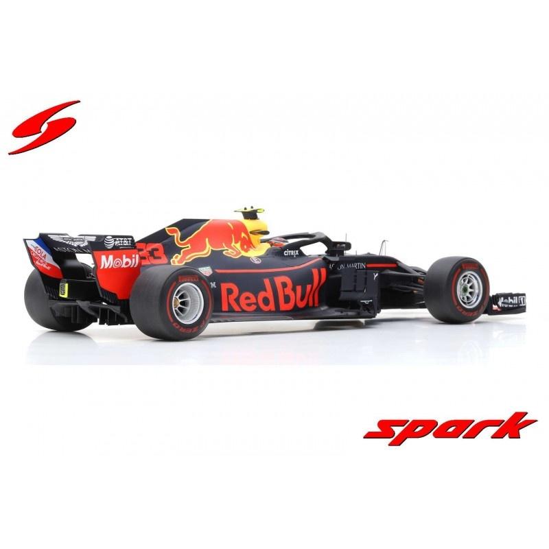 Spark Max Verstappen Schaalmodel 1:18 GP Mexico 2018